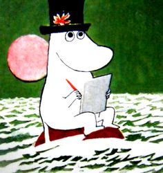 moomin papa Story Characters, Disney Characters, Critters 3, Tove Jansson, Little Critter, Illustration Artists, A Comics, Creative Writing, Comic Strips