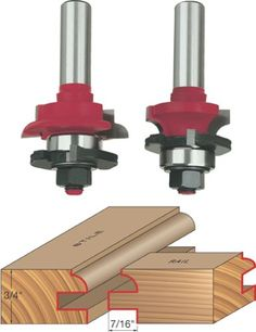 Freud Radius Convex Edge Bit with Shank Woodworking Jig Plans, Learn Woodworking, Wood Carving Tools, Wood Tools, Router Tool, Planer, Dremel, Freud Router Bits, Diy Wood Counters