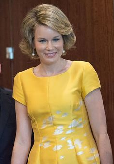 Queen Mathilde of Belgium at UN Headquarters in New York City - Royal Family Around the World