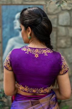Buy Designer Blouses online, Custom Design Blouses, Ready Made Blouses, Saree Blouse patterns at our online shop House of Blouse from India. Hand Work Blouse Design, Simple Blouse Designs, Stylish Blouse Design, Saree Blouse Neck Designs, Bridal Blouse Designs, Aari Work Blouse, Designer Blouses Online, Designer Blouse Patterns, Embroidery Neck Designs