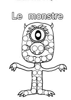 Clique ici pour imprimer le coloriage monstres academy - Monstre academy dessin ...