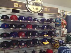 New Era Hat Display