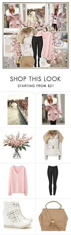"""""""Pink Parisienne"""" by jonskuy ❤ liked on Polyvore featuring Stockdale, INC International Concepts, Jane Norman, Uniqlo, Ksubi, Wallis and Dorothy Perkins"""