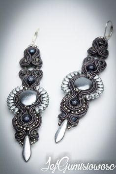 Soutache jewelry: Kolczyki #15 - 22