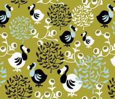 The Dodo fabric by addilou on Spoonflower - custom fabric