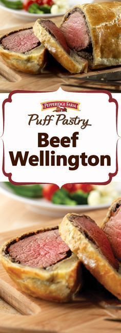 Pepperidge Farm Puff Pastry Beef Wellington Recipe. Looking for an impressive dish for the holidays?  It takes a little time to put this dish together, but it's so simple to make. The results are outstanding and delicious.