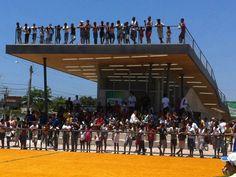 Homeless World Cup Legacy Center,© Lompreta Nolte Arquitetos Superficie transitable Proyecto Social