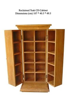 Source Reclaimed Teak CD Cabinet on m.alibaba.com