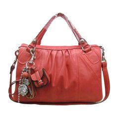 Juicy Couture Leather Bag Shocking Pink £120.00 fa27231f8d83e