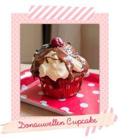 Donauwellen-Cupcakes *