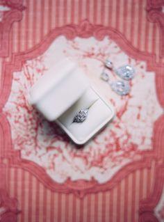 diamond ring from Pairs wedding http://www.trendybride.net/paris-christian-wedding-american-church/