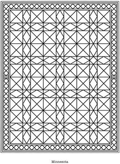 Quilt Coloring Pages | WWQP Quilt Coloring Book - Thirteen Squares ...