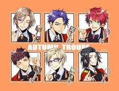 Tokushima, Cute Anime Boy, Cute Images, Acting, Wolf, My Love, Autumn, Fictional Characters, Games