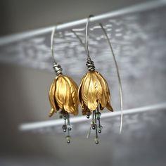 Messing toeters Brass tulpen gemengde metalen door Mayahelena