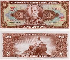 Brazil Cruzado, Cruzeiro and Real banknotes for sale. Dealer of quality collectible world banknotes, fun notes and banknote accessories serving collectors around the world. Over 5000 world banknotes for sale listed with scans and images online. Money Template, The Color Of Money, History Of Philosophy, Money For Nothing, Money Worksheets, Valuable Coins, Business Checks, Old Coins, Money Matters