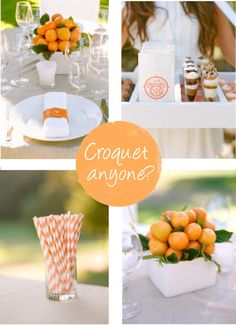Hamptons Croquet Party  #diy-wedding