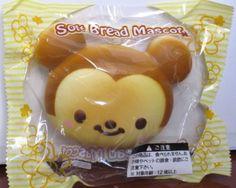 Jumbo Baby Disney Mickey Mouse Kawaii Squishy Bread Bun Mascot w Ball Chain | eBay