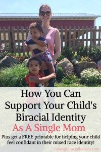 support mixed race identity | how to support biracial children | biracial kids | biracial | single mom #biracial #mixedrace