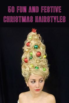 Christmas is nearly upon us and you probably have multiple parties or family gatherings to attend. Make the best of them by showing up with festive hair! We have here styles for men, women, and children! So enjoy! Animal Crossing Funny, Best Butt Lifting Exercises, Ribbon On Christmas Tree, Amazing Hairstyles, Marriage Humor, Layers Of Skin, Best Friend Pictures, Family Gatherings, Christmas Hairstyles