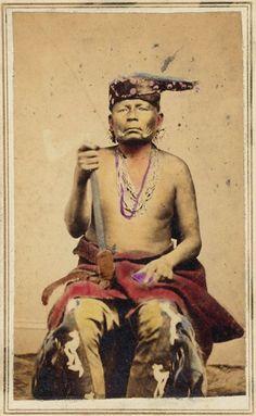 SAUCY CHIEF  (WYTANKA)  , 1865