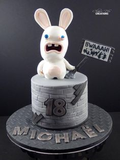 Ravins rabbids cake - Cake by Claire DS