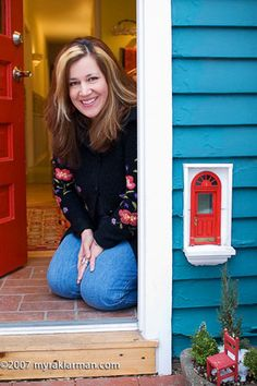 FAIRY DOOR - AT Red Shoes!