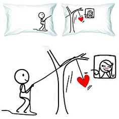couple pillowcases - Google Search