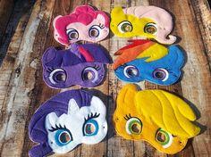 My Little Pony sentía máscara Pinkie Pie Applejack por MTBrownBear