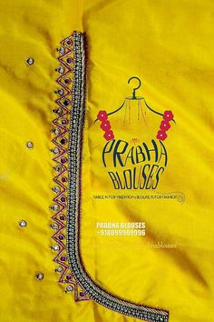 57a0870507b764 622 Best Yellow Saree Blouses images