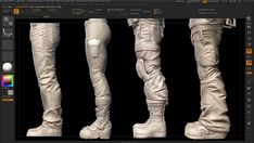 ArtStation - Streetguy Cloth studies, Thomas Vogel