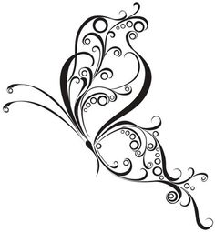 Dessin Papillon Tatouage 59 meilleures images du tableau tatouage papillon dos | butterflies