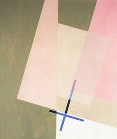 László Moholy-Nagy (1895-1946), 1923, Chicago A XI, oil on canvas.