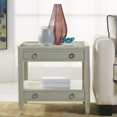 Jen, how do you feel about the style of this side table?