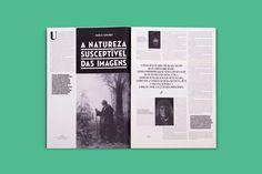 O Tempo e o Modo / Exhibition Journal on Behance