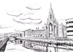 Holy Trinity Church Irish Art, Cork Ireland, Art For Sale, How To Draw Hands, Drawings, Prints, Painting, Painting Art, Paintings