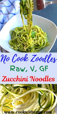 Raw Zoodles Salad or Zucchini noodles or Courgette noodles are no cook, low carb, vegan and gluten free vegetarian noodles made using Zucchini and a perfect alternative to pasta.     #Vegetarian #Zucchini #Zucchinirecipes #courgettes #avocado #zoodlerecipes #zoodles #nocook #raw #rawvegan #healthy #healthyfood #healthyrecipe #healthydinner #healthylife #veganfood #veganpasta #lowcarbrecipes #ketodiet  #lowcarbketorecipes #ketorecipes
