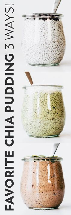 My favorite chia seed pudding recipe with just the right ratio and ingredients for ultra creamy texture – for dessert, breakfast, or a make ahead snack! #vegan #paleo #easyrecipe #breakfast #snack