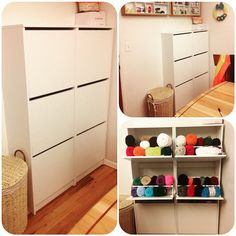 IKEA Bissa hack. We replaced the top of two Bissas shoe cabinets ...
