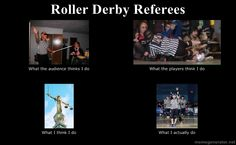 Roller Derby Referees