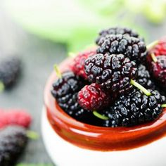 Mulberries - Top 50 Summer Diet Foods for Weight Loss - Shape Magazine