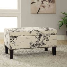 Best Farmhouse Style Ottomans! Discover the top-rated country themed ottomans for your farm home living room or bedroom. Ottoman Storage Seat, Farmhouse Living Room Furniture, Shops, Furniture Deals, Copper, Cursive Script, Entry Hallway, Home Decor, Garden
