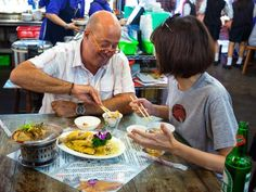 In Taipei, Taiwan, Andrew Zimmern feasts on stinky tofu, iron eggs and bullfrogs.