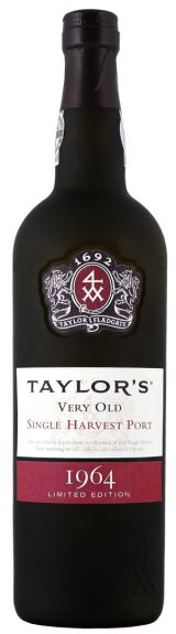 Taylor Fladgate Launches Limited Edition 1964 Single Harvest Tawny Port - Pursuitist  Thank you -  yes special to me - and the year on my birth