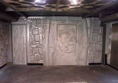 Design, interior, furniture, decor, panels.Project H.R.Giger. Designer - Alexei Pimenov.