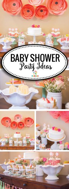 Gorgeous Baby Shower Ideas to welcome a baby girl!