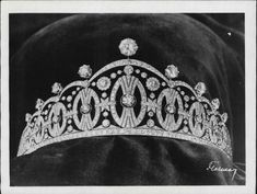 Crown Princess Märtha of Norways tiara, made for her as gift to the wedding 1929
