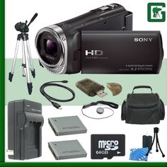 Sony HDR-CX330 Handycam Camcorder (Black) + 64GB Green's Camera Bundle 4  http://www.lookatcamera.com/sony-hdr-cx330-handycam-camcorder-black-64gb-greens-camera-bundle-4-3/