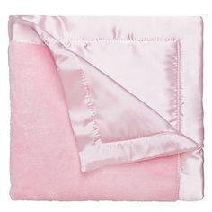 Amazon.com: Elegant Baby Ultra Plush Blanket, Satin Border Blanket 36 x 45 Inch in Baby Blue: Baby