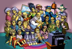 minecraft hippie fan art | Os Simpsons em Desenhos Alternativos.