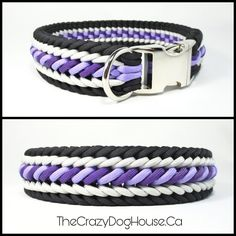 Paracord Dog collar Handmade